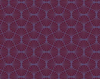 END of Bolt - 30 inches - Joel Dewberry - Heirloom - Empire Weave in Garnet - cotton quilting fabric - Remnant
