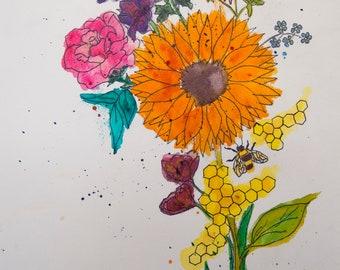 Pollinator Print