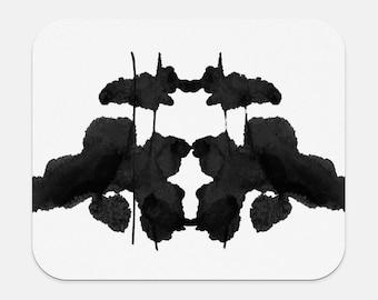 L'encre tache oeuvre tapis de souris Rorschach thérapeute Bureau Decor