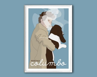 Columbo poster print in various sizes