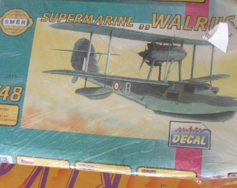 walrus model plane kit