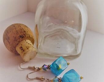 Cubed earrings