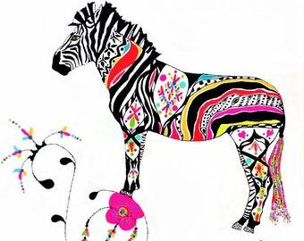 ANYA The Colorful Zebra