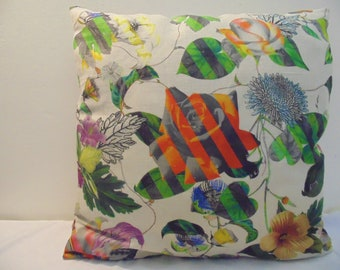 Designers Guild & Christian Lacroix Malmaison Natural-Argile Cushion Cover D2