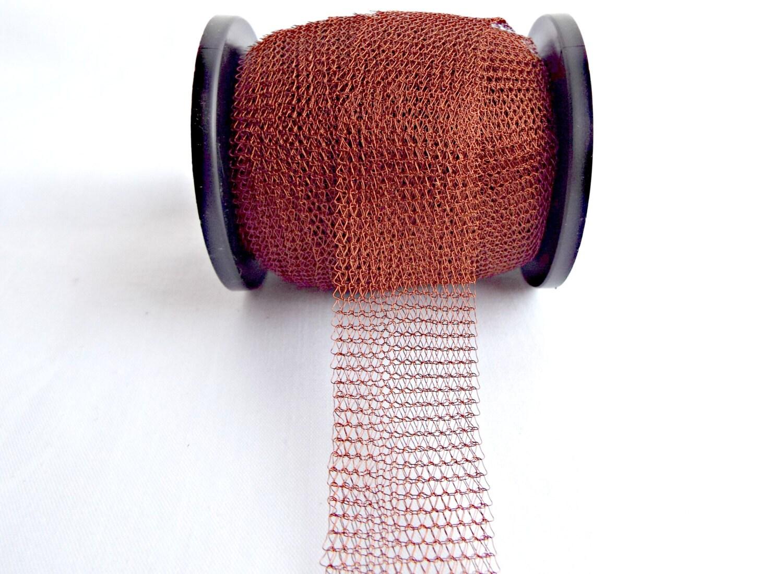 Braun Drahtgeflecht gestrickt Draht braunen Netzschlauch