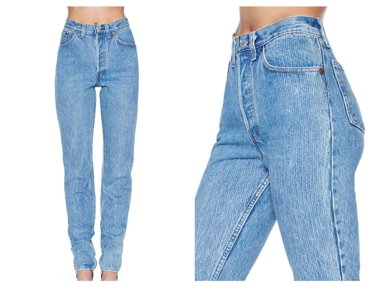 High waisted mom jeans cheap