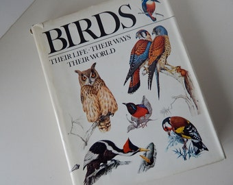 Reader's Digest Bird Book - Gorgeous Reference Book - c.1979 - 299 Pages!