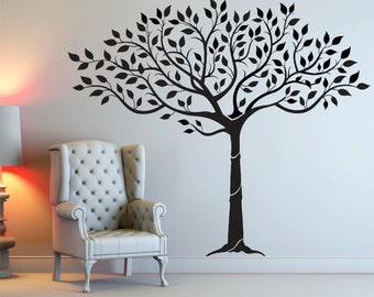 Lady Fingers Tree Wall Decal - Original Artwork