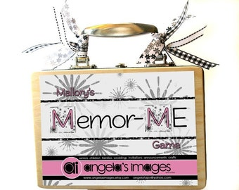 Memor-ME Game - your personalized version of Memory - 30 square pieces