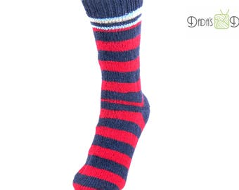 """Knitted socks """"Regia Pairfect; Color: Valletta """"-Gr. 37/38"""