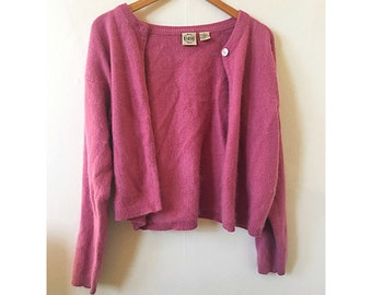 90s One Button Cardigan