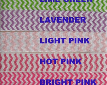 CLEARANCE - 5 yards CHEVRON Prints by the YARD choose your colors, new lower prices - on sale