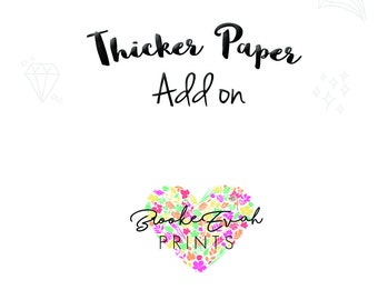 Wait! I want thicker paper for my inserts please