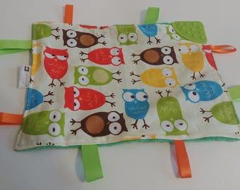 Mini blanket teething