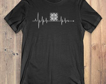 Quilting T-Shirt Gift: Heartbeat Quilting