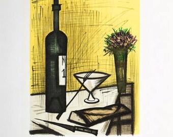 BERNARD BUFFET - 'Le Sacre Coeur' - vintage lithograph - c1968 (important 20th Century French artist)