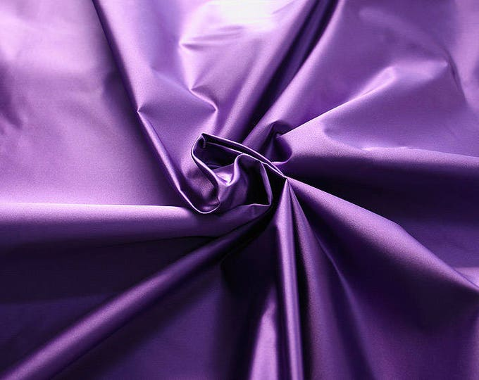 276215-natural silk satin 100%, 135/140 cm wide, manufactured in Italy, dry cleaning, weight 180 gr, price 1 meter: 133.89 Euros