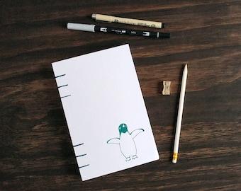 Bullet Journal | Penguin Journal, Bullet Journal Book, Bujo, Lined Notebook, Prayer Journal, Dot Grid, Gratitude Journal, Penguin Gift