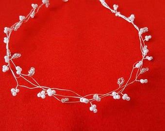 Hair Jewelry wax Beads Wedding Bridal Jewelry head Jewelry