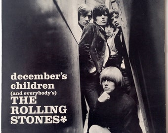 The Rolling Stones - December's Children (And Everybody's) LP Vinyl Record Album, London Records - LL 3451, 1966, Original Pressing