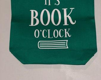 Its Book O'Clock Totes Bag