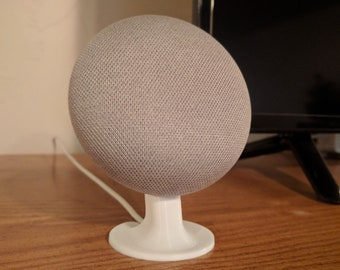 Google Home Mini Stand Mount for Desk, Dresser, etc- Make it visible from everywhere!