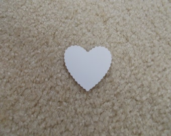"""25 Hearts for Scrapbooking/Cardstock Cutout Embellishments! Measures 2"""" x 2"""""""