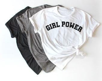 Girl Power Women's Shirt, Girl Boss Shirt, The Future is Female Shirt, Feminist Shirt