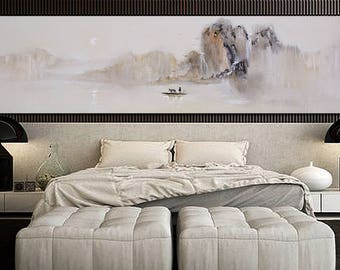 Large wall art, Abstract Painting, Contemporary Art, Abstract art, Landscape oil painting, Canvas art, Large canvas art, Large Oil Painting