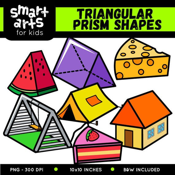 2D and 3D Shapes Clip Art - Whimsy Workshop Teaching | TpT