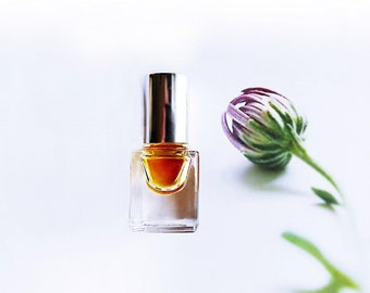 Natural Botanical Perfume oil Miss Mary Jane, A Tribute to Female Botanist with Champa Flower Sandalwood Incense Hemp Seed 3 ml cruelty free