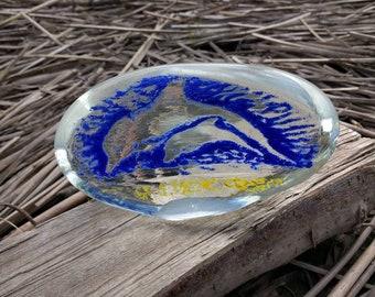 Nash blown glass ornament
