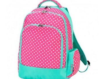 Monogram Pink Dottie Backpack