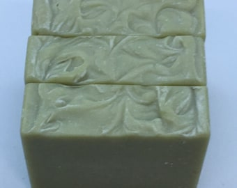 All Natural Goat Milk Patchouli & Lime Essential Oil Soap