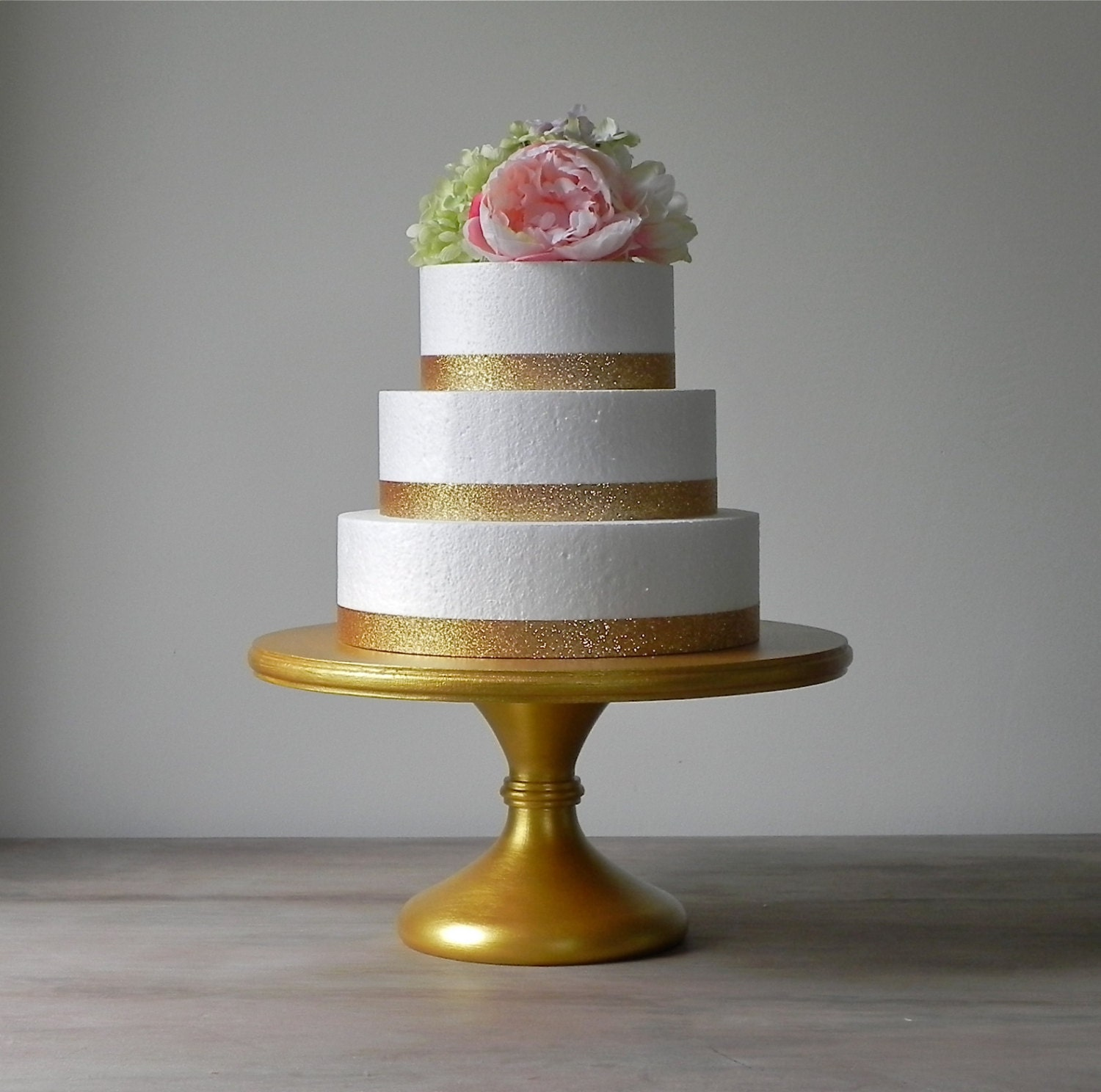 Gold Cake Stand 12 Cupcake Stand Gold Cake Topper