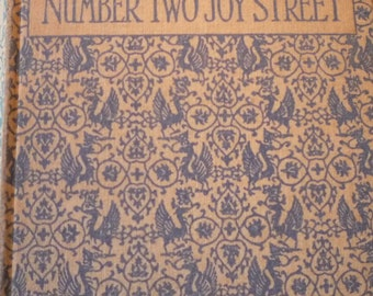 Number Two Joy Street - 1924 illustrated edition - excellent condition - mothers day gift - gift for readers - gift for grandparents
