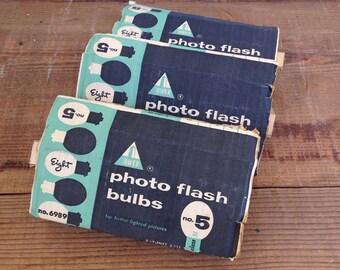 Vintage Tower Photo Flash Bulbs Vintage Camera Flash