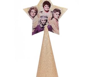 Golden Girls  Christmas Tree Topper