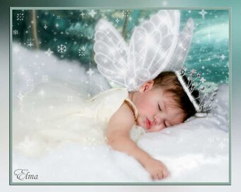 PATTERN and tutorial for fairy wings Chloe Infant