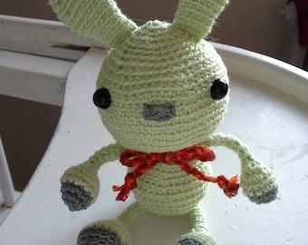 Rabbit Wasabi (small size) 1 copy available + custom personalization