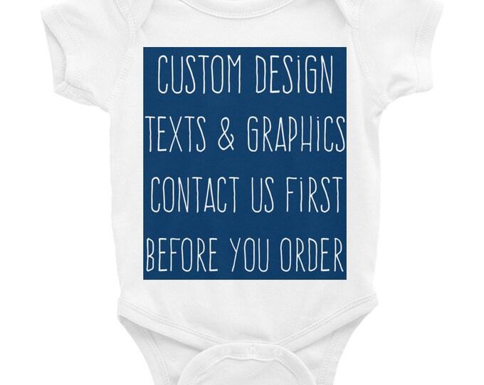 Custom Onesie® Custom Baby Onesies, baby onesie, personalized onesie, name onesie, baby boy onesie, baby girl onesie, newborn onesie, custom