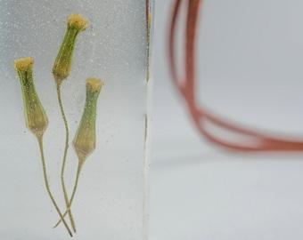 Flower Resin Necklace