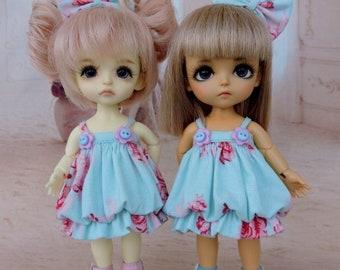 Dress for a doll BJD Lati Yellow/Pukifee/IrrealDoll/Luts/Nikki Britt