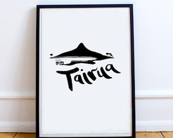 Tairua Beach NZ Print