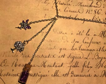 SALE   Fairy dust charm necklace
