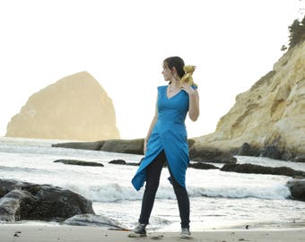 Daenerys Targaryen Costume - Game of Thrones, Dress, khaleesi, Halloween, Costume, Cosplay, Mother of dragons, Blue