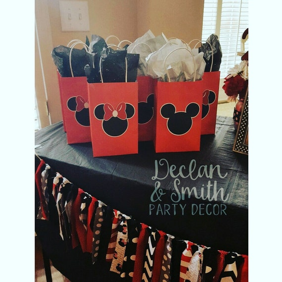 Mickey Mouse party favors Minnie Mouse party favors Mickey
