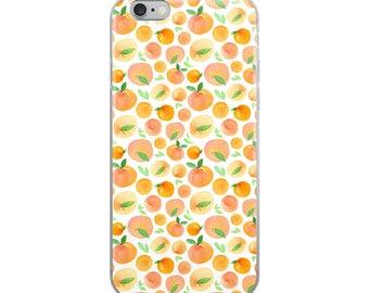 Watercolor Summer Oranges iPhone Case