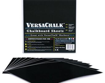 Vinyl Chalkboard Sheets 12 x 12-inch