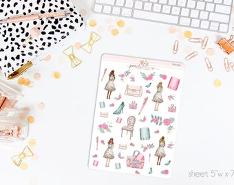 Spring Forward Deco Stickers // Perfect for ECLP, A5, Personal, Filo, or any planner // D0550